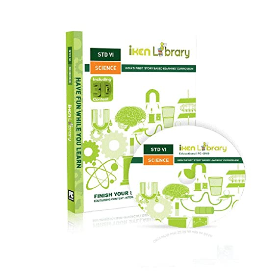 Mexus Education Iken Library Class 6 Science PC DVD ROM (DVD)