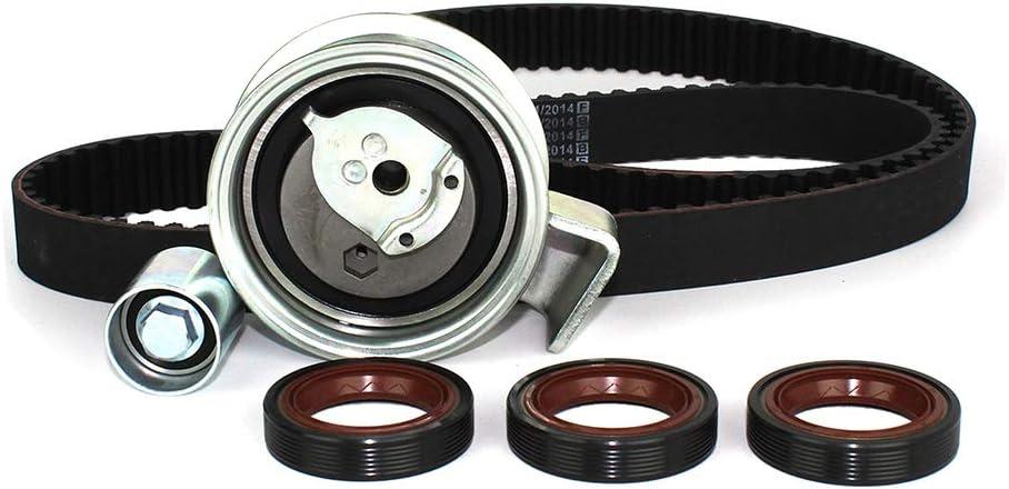 AWM Volkswagen // A4 Passat // 1.8L // DOHC // L4 // 20V // 1781cc // AMB DNJ TBK800D Timing Belt Kit//For 2001-2006 // Audi A4 Quattro