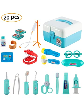 Twister.CK Childrens Doctors Kit, Kids Pretend Juego de rol Doctor Medical Set Toys