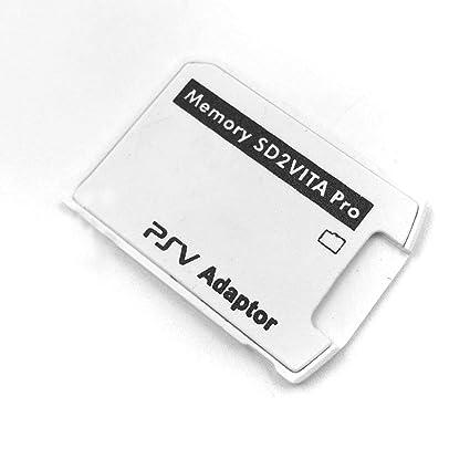 Haihuic Adaptador de Tarjeta de Memoria SD2Vita 6.0, PS Vita ...