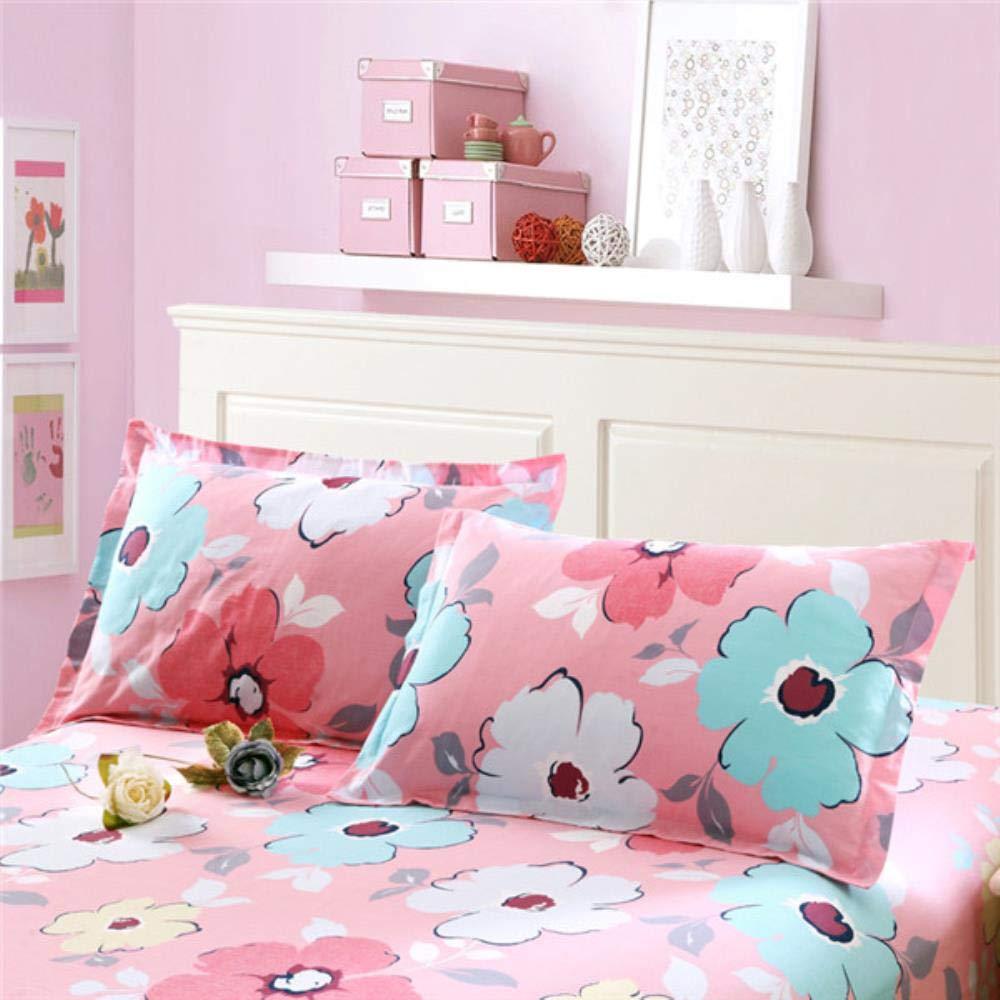 Runxinze Bettwäsche Kissenbezug aus 100% Baumwolle Komfortbettwäsche Komfortbettwäsche Komfortbettwäsche ohne verblichenen Kissenbezug-1,2St 48x74cm B07QNB2P5L Kopfkissenbezüge 0272a1