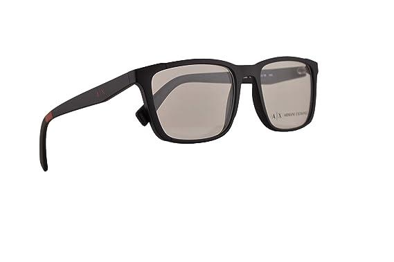 Amazon.com: Armani Exchange AX3052 - Gafas de ojo 54-18-140 ...