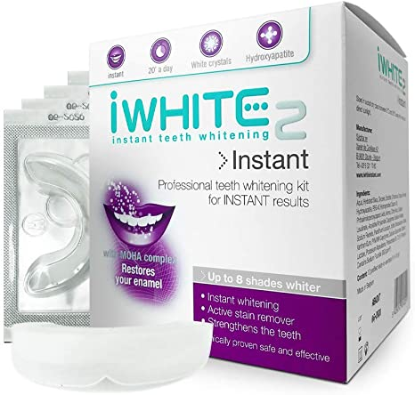Iwhite Instant 2 Teeth Whitening Kit With 10 Trays Up To 8