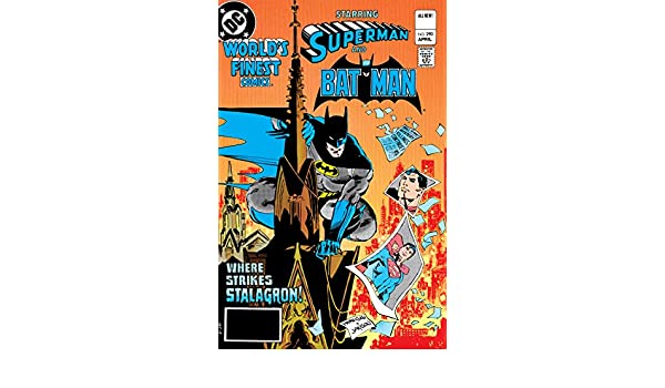Amazon Worlds Finest Comics 1941 1986 290 EBook Doug Moench Carl Gafford Ed Hannigan Klaus Janson Tony Dezuniga