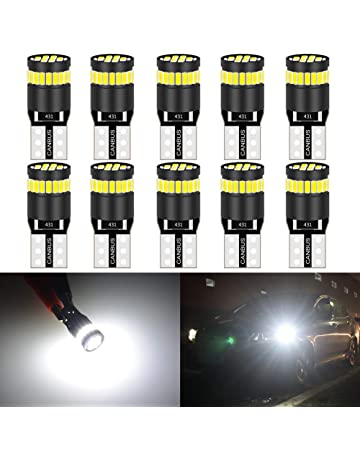 KaTur 194 Bombilla LED 6000K Blanco Super Brillante 168 2825 W5W T10 Cuña LED Bombillas de
