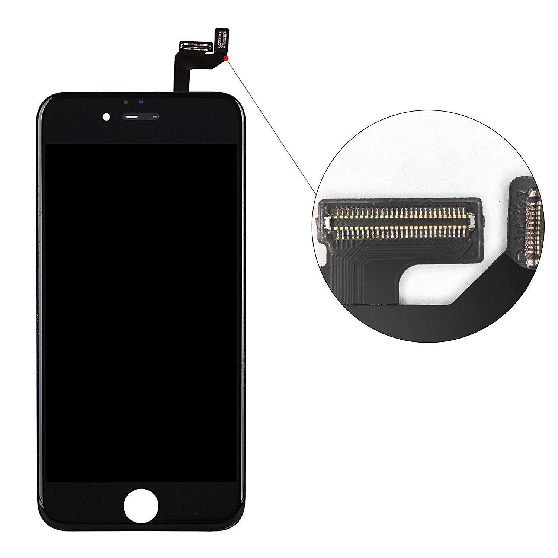 LCD 3D Touch Pantalla Digitalizado Asamblea con Herramientas de Reparaci/ón y Protector de Pantalla Beefix Pantalla Compatible con iPhone 6S Negro 4.7