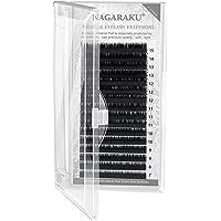 NAGARAKU Wimperverlenging wimperextensions individueel enkele lengte 0.03 C 7-15mm Mix zacht mat zwart eyelash…