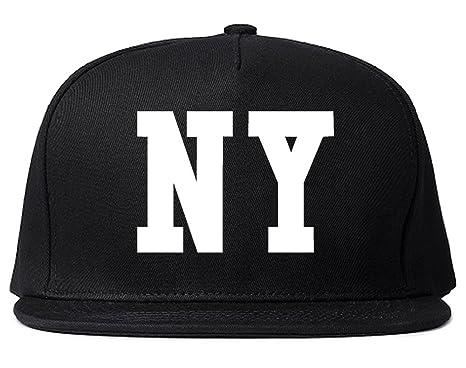 ed0577eb936 Kings Of NY New York Bandana NYC Black Gang Flag Snapback Hat Black ...