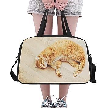 Amazon.com: Bolsas de yoga para gimnasio con diseño de gato ...