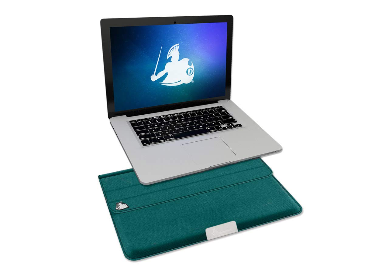 DefenderShield Laptop Case EMF Radiation Blocker & Protection Laptop Sleeve - Notebook Computer EMF Shield Cover Compatible with up to 13'' Laptop, Ultrabook, Chromebook, MacBook by DefenderShield (Image #1)