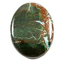 Gems&JewelsHub 94CTS 100% naturale Crisocolla designer trattata gemma sciolto cabochon ovale