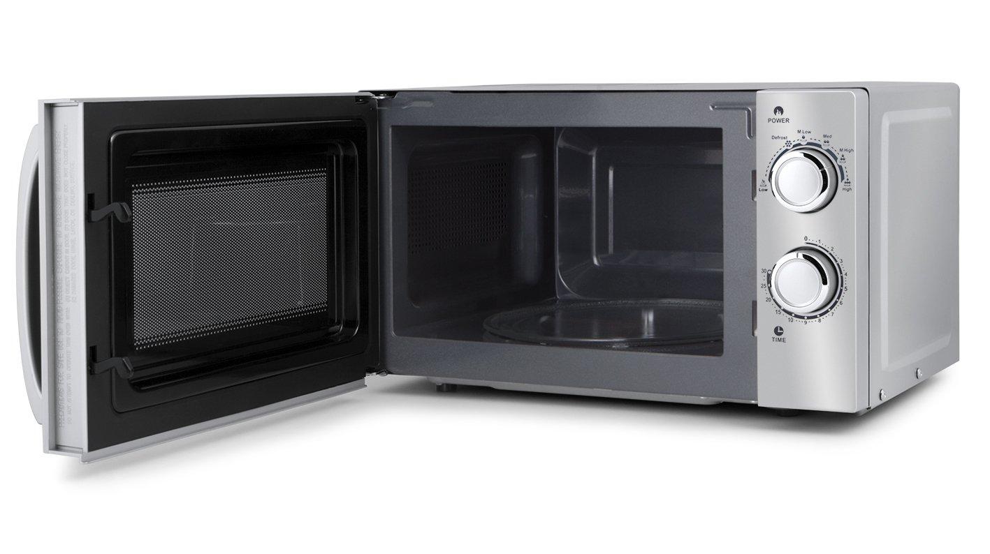 Orbegozo MI 2018 - Microondas sin grill (700 W de potencia, 20 L, 6 niveles de funcionamiento), color gris: Amazon.es: Hogar
