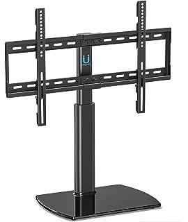 FITUEYES Soporte Giratorio de TV de 32 a 60 Pulgadas Altura Ajustable Soporte de Mesa para TV LCD LED OLED Plasma Plano Curvo TT104501GB-G: Amazon.es: Electrónica