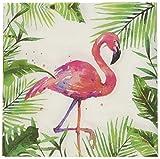 #5: Paperproducts Design PPD 1252707 Tropical Flamingo Beverage/Cocktail Paper Napkins,5
