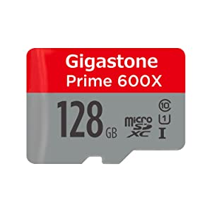 Gigastone 128GB Micro SD Card U1 C10 Including MicroSD to SD Adapter, Micro SDXC Memory Card High Speed Full HD Video Samsung Nintendo Camera Canon Nikon GoPro DJI Drone