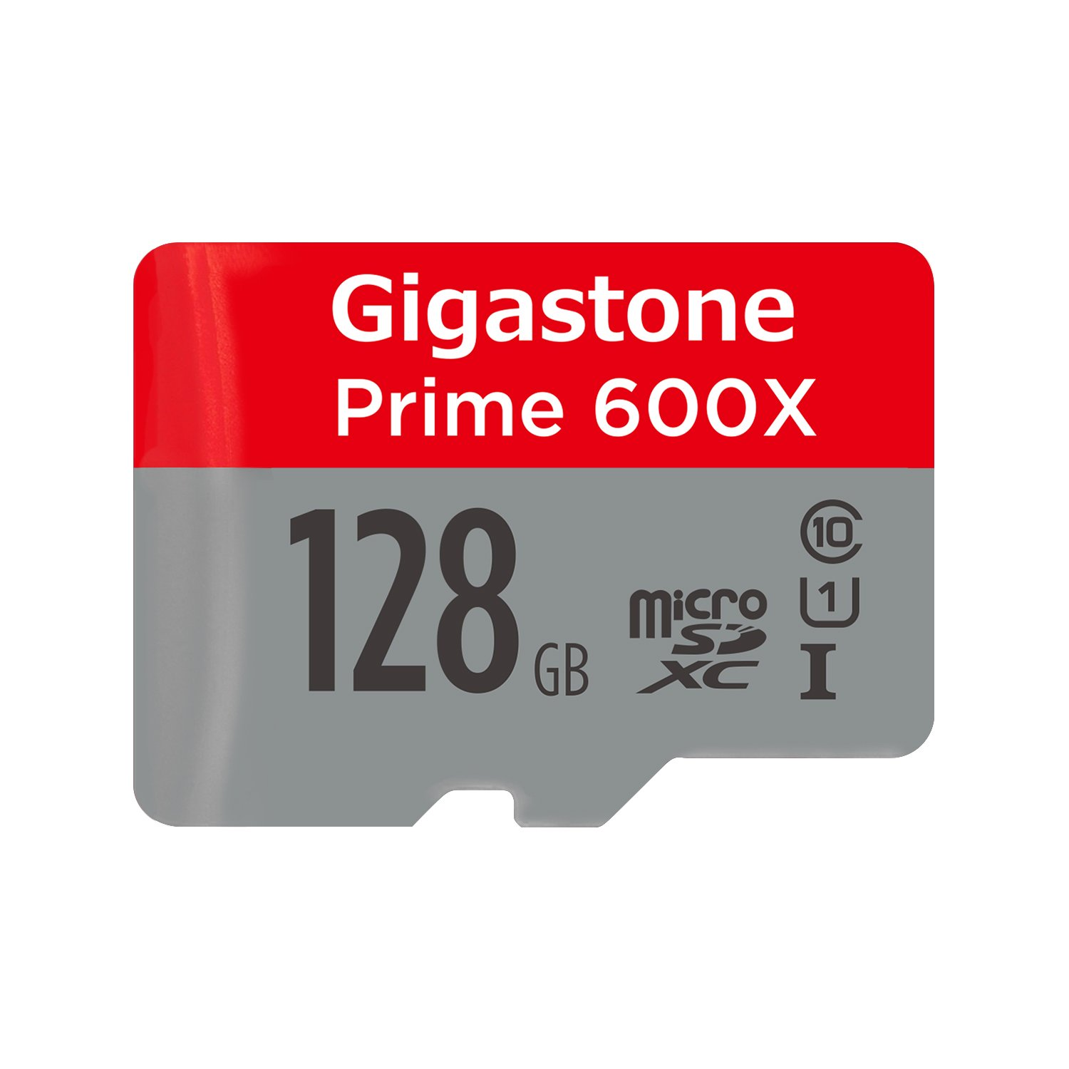 Gigastone 128GB Micro SD Card U1 C10 Class 10 UHS-I Micro SDXC Memory Card with MicroSD to SD Adapter High Speed Full HD Video Android Samsung Nintendo Dashcam Camera Canon Nikon GoPro DJI Drone