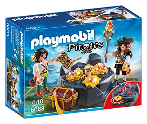 Pirate Playmobil - PLAYMOBIL Pirate Treasure Hideout