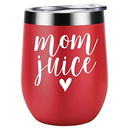 Mom Juice | Funny Mom Gifts for Mother's Day from Daughters, Sons or  Husband | Best Mom Presents for Mom Birthday, Wife, Women, Her | Coolife 12  oz