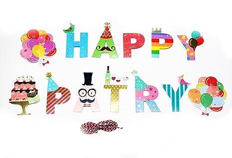 Amazon Happiest ハピエスト Happy Birthday お誕生日 パーティ