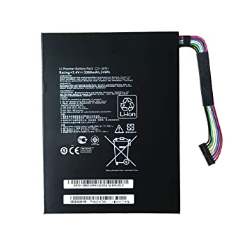 24Wh C21-EP101 Battery For Asus Eee Pad Transformer TF101 TR101 3300mAh 7.4V