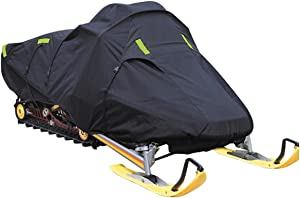 Trailerable Snowmobile Snow Machine Sled Cover fits Polaris INDY 500 for Model Years 1997-2006. 600 Denier, trailerable.