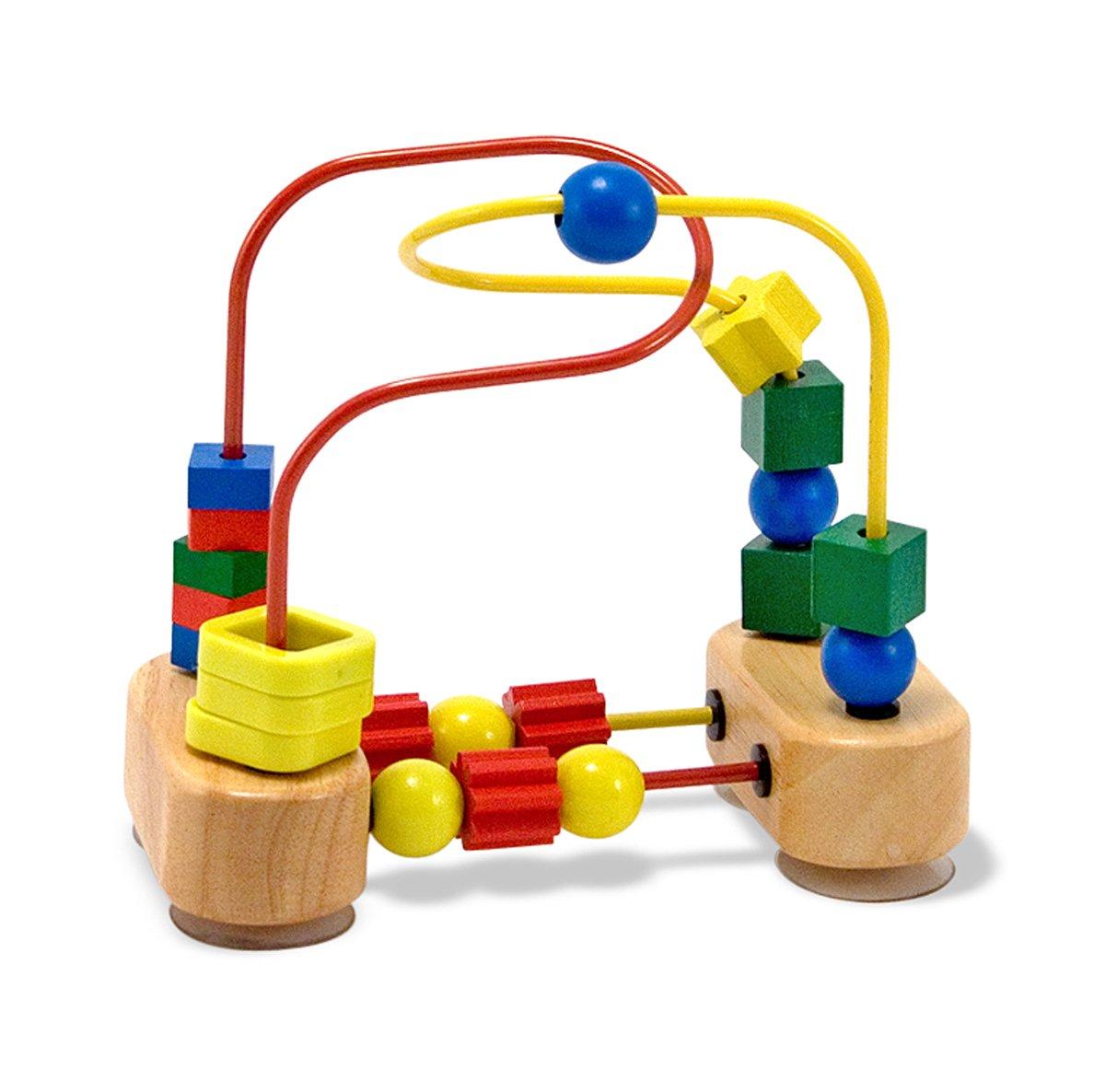 melissa  doug first bead maze  wooden educational toy amazonco  - melissa  doug first bead maze  wooden educational toy amazoncouk toys games