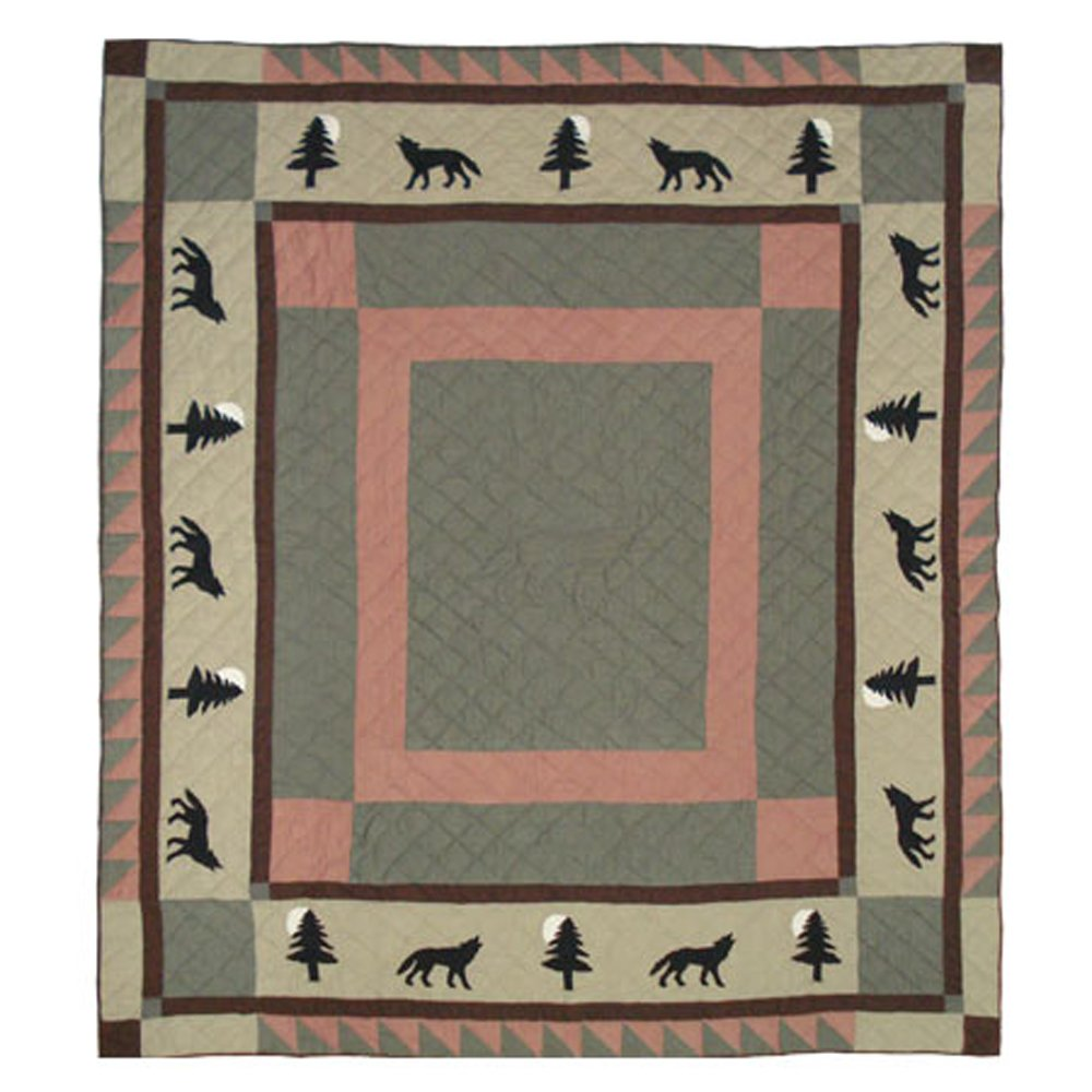 Patch Magic Wolf Trail Quilt