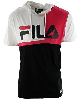 142b4c926672 Staple x Fila Hooded T-Shirt at Amazon Men s Clothing store