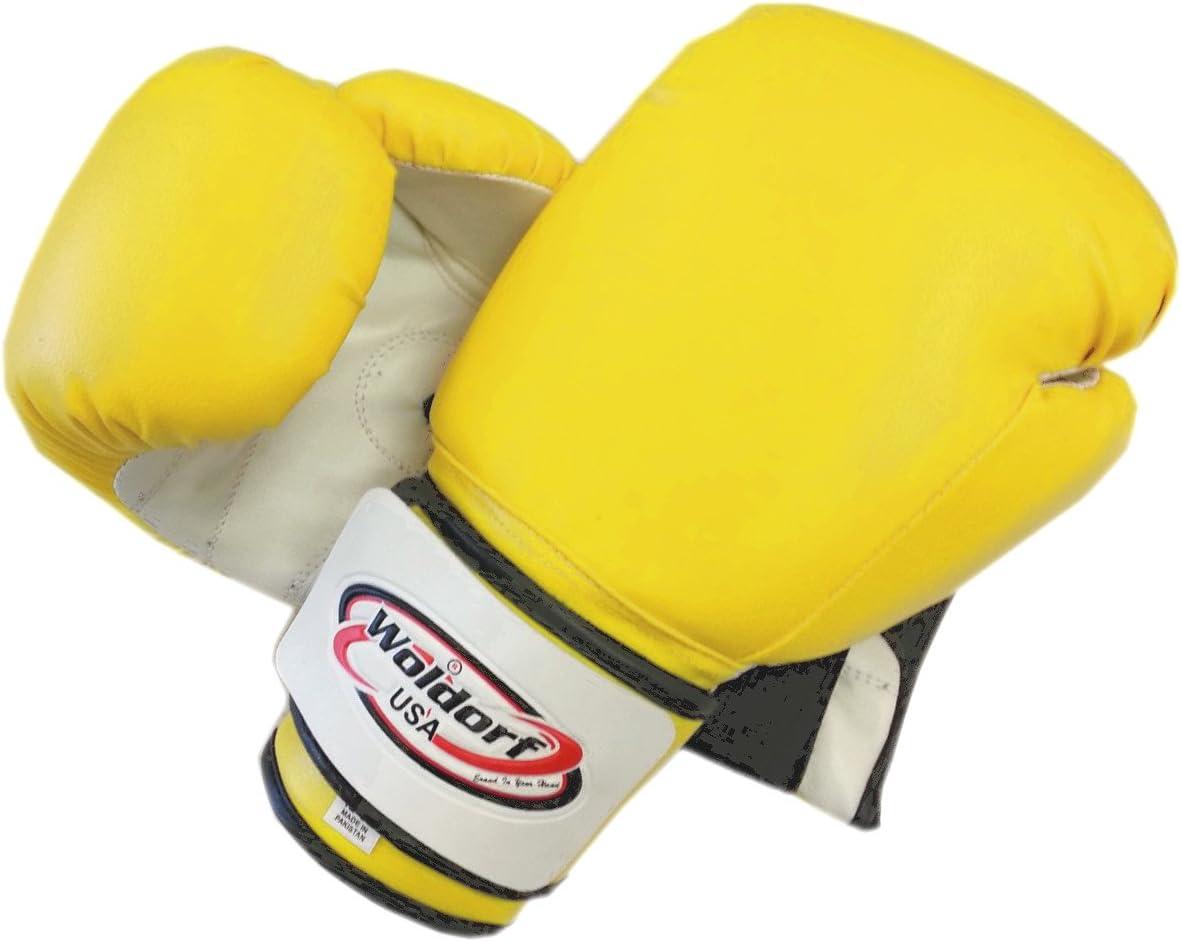 Boxing Bag Gloves in Vinyl 300ml 黄
