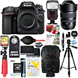 Nikon D7500 20.9MP DX-Format 4K Ultra HD Digital SLR Camera with Tamron SP 15-30mm F/2.8 Ultra-Wide Angle Di VC USD Lens Accessory Bundle