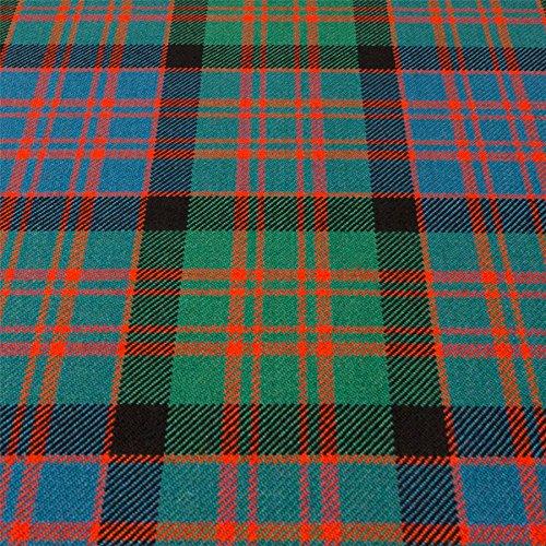 (Heavy Weight 16oz Fabric Material Macdonald Ancient Tartan 1)