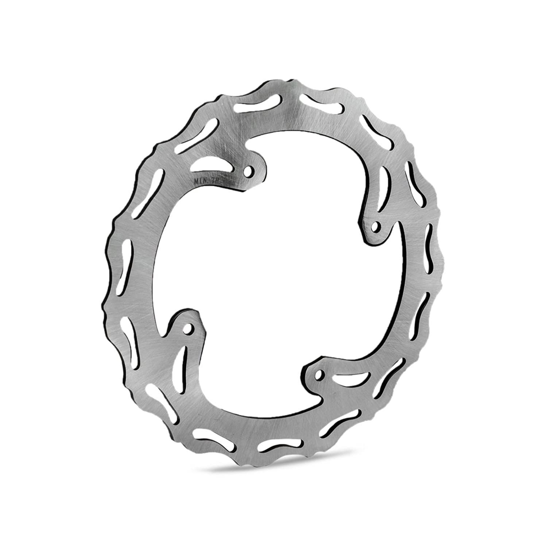 H2RACING Front Rear Brake Disc Rotor for Hon-da CR125 250 2002-2007 CRF250R 2004-2008 CRF250X 2004-2017 CRF450R 2002-2008 CRF450X 2005-2017