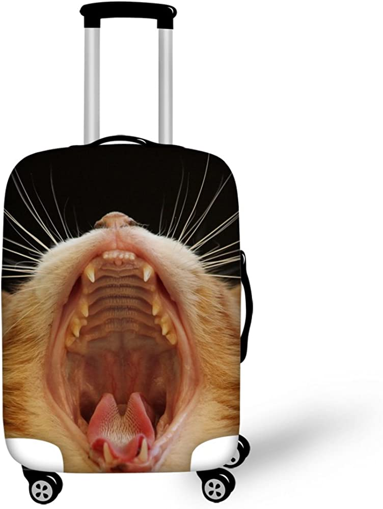 Angry Animal Pattern luggage cover american tourister Protect Suitcase Cover