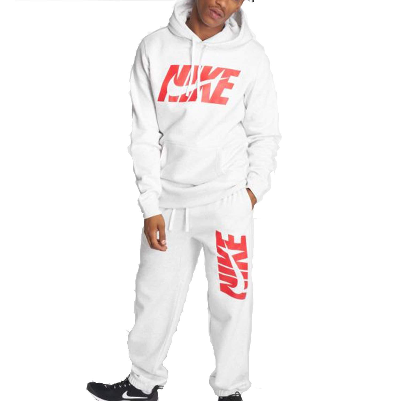 Nike M NSW CE TRK Suit FLC GX - Chándal, Hombre, Gris(Birch ...