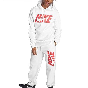 b0bc006e05b53 Nike NSW ce TRK M Suit FLC GX - Survêtement Homme, Gris (Birch Heather