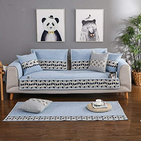 Protector de sofá antideslizante para sala de estar, 1 funda ...
