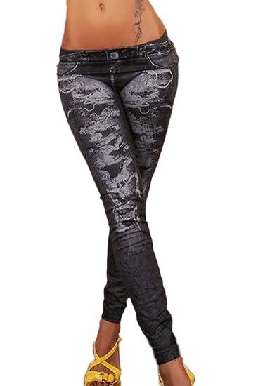 One Size Jeanslook Leggins