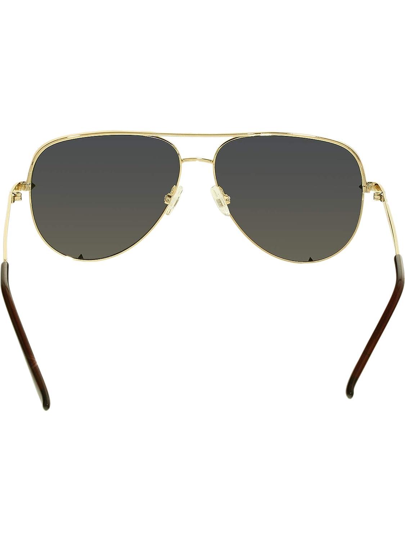fad4d4271e610 QUAY High Key Gold - Size  One Size - Color  Gold  Amazon.com.au  Fashion