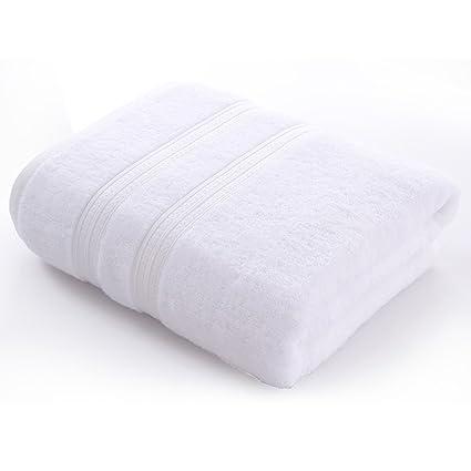 Puede usar toallas de baño Toallas de algodón Los hombres y las mujeres adultos espesaron las ...
