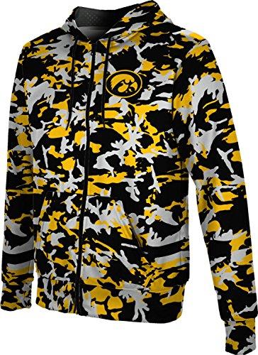 ProSphere University of Iowa Men's Full Zip Hoodie - Camo FD9D1 (Large) ()