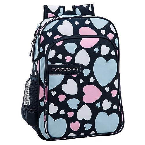 Movom 3052351 Mochila Adaptable a Carro, Diseño Hearts, 19 litros: Amazon.es: Zapatos y complementos