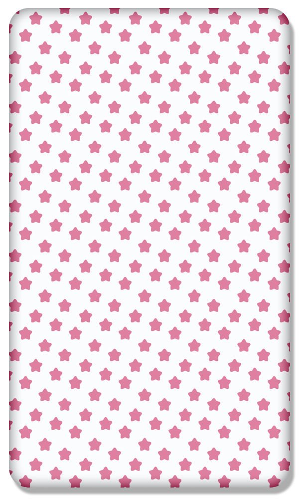 100/% COTTON FITTED SHEET WITH PRINTED DESIGN FOR BABY COT BED 140x70CM Folklore