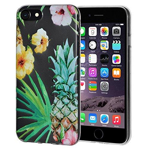 """Amzer Coque en gel souple transparent """"Tropical en TPU pour Apple iPhone 6/6S"""