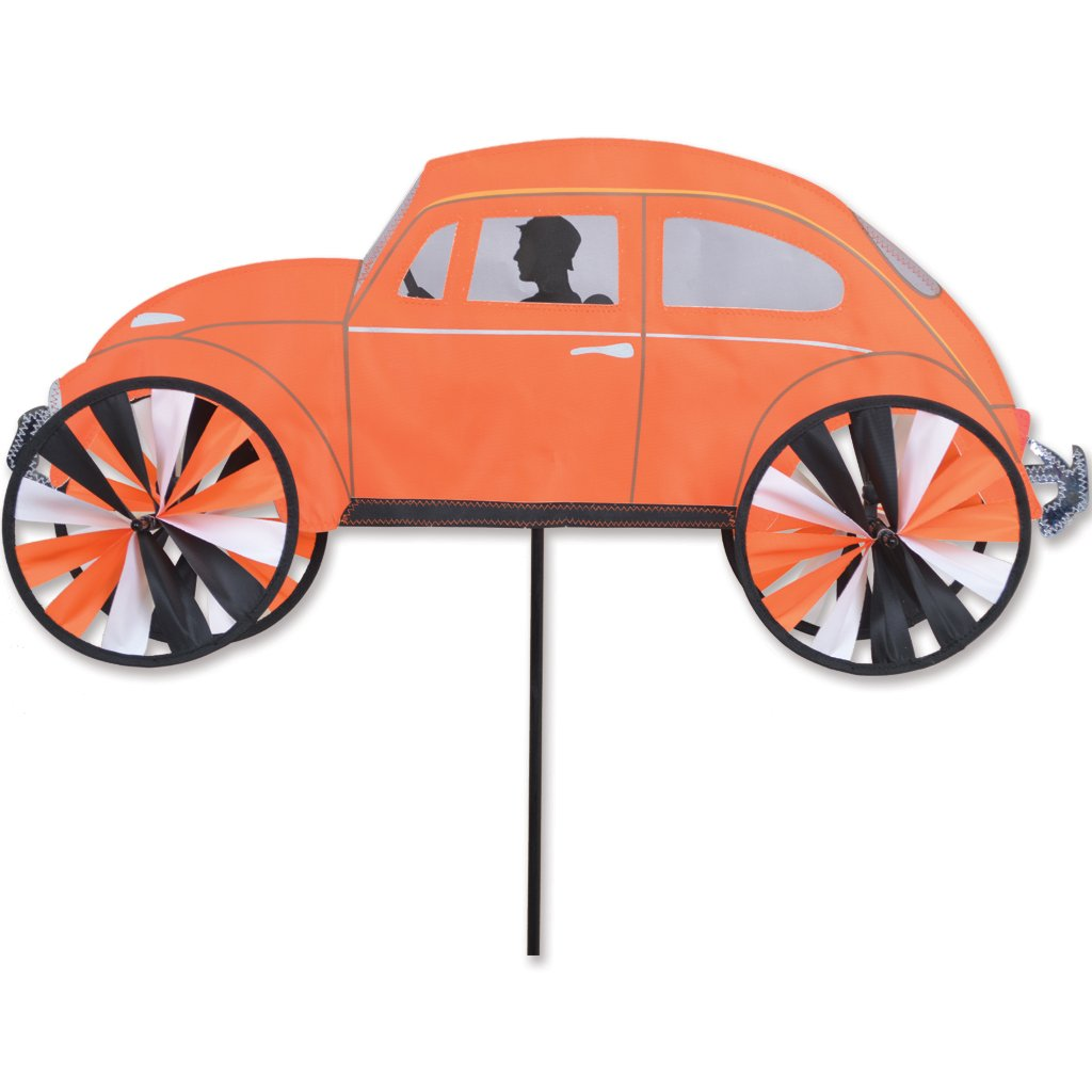 Premier Kites Classic Orange Beetle VW Spinner