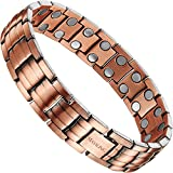 Product review for Elegant Pure Copper Magnetic Therapy Bracelet Pain Relief for Arthritis and Carpal Tunnel with Double Row Magnets