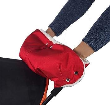 Handschuh Kinderwagen Handsch/ützer wasserdichte Kinderwagenhandschuhe Frostschutzhandschuhe Baby Handw/ärmer Handschutz F/äustlinge Kinderwagen f/ür Stockgriff Winterwagen 22 x 48cm Serria