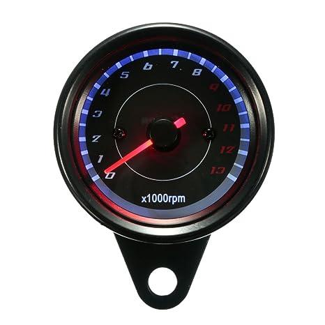 BADASS SHARKS Universal Fuel Gauge 12V 10W LED Digital Oil Fuel Gauge For Car Motorcycle