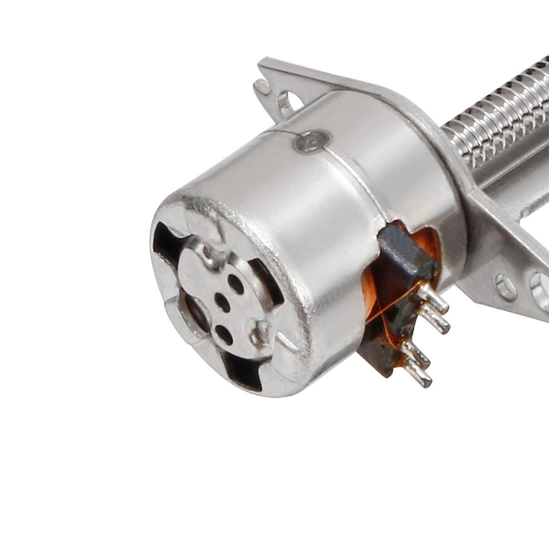 6/V 10/mm x 2/mm Schraube Schaft 2/Phase 4/Draht micro-step Stepper Motor DC 3
