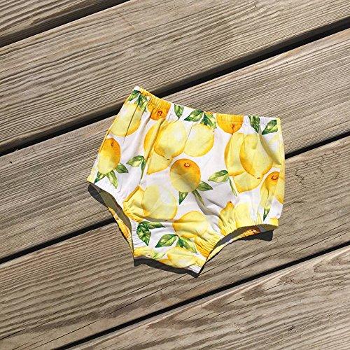 Lemon baby girls diaper cover, sizes newborn-3y