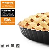 HOMOW Nonstick 11 inch Tart Pan With Removable